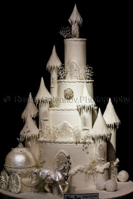 Fairy Tale Castle Wedding Cake Tales