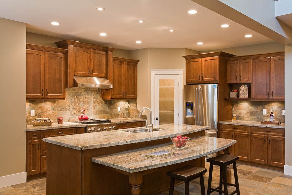 Lot 77 Kitchen - traditional - kitchen - vancouver - Clay ...