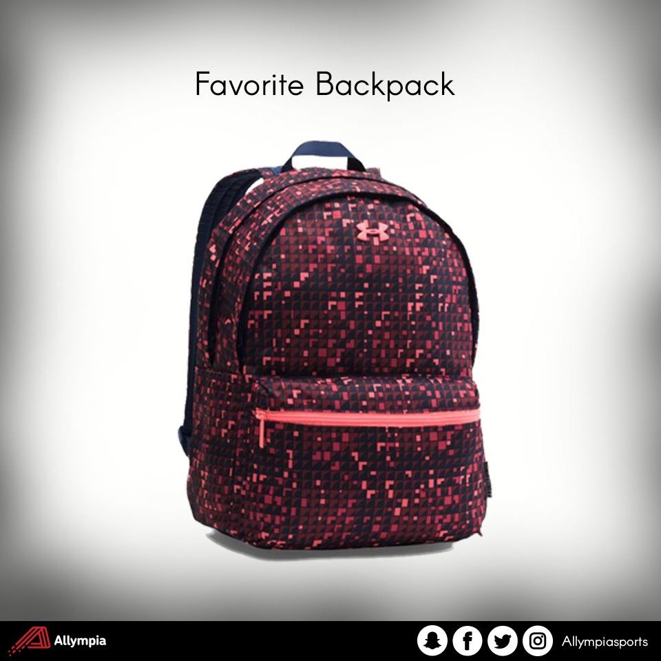 Hit the gym or class with Under Armour backpacks . Available now at Allympia.