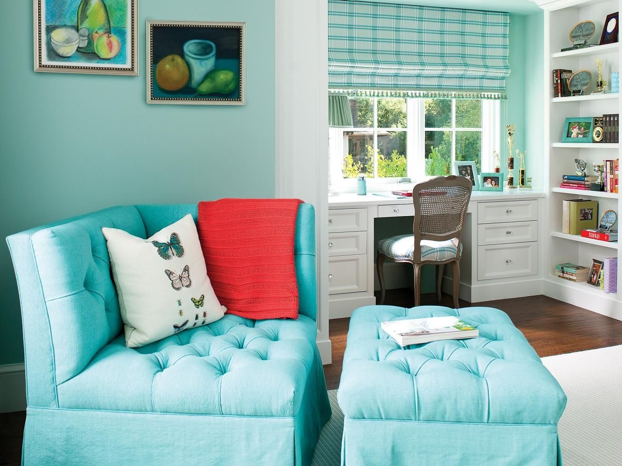 Teen Bedroom Colors teenage bedroom color schemes: pictures, options & ideas | hgtv
