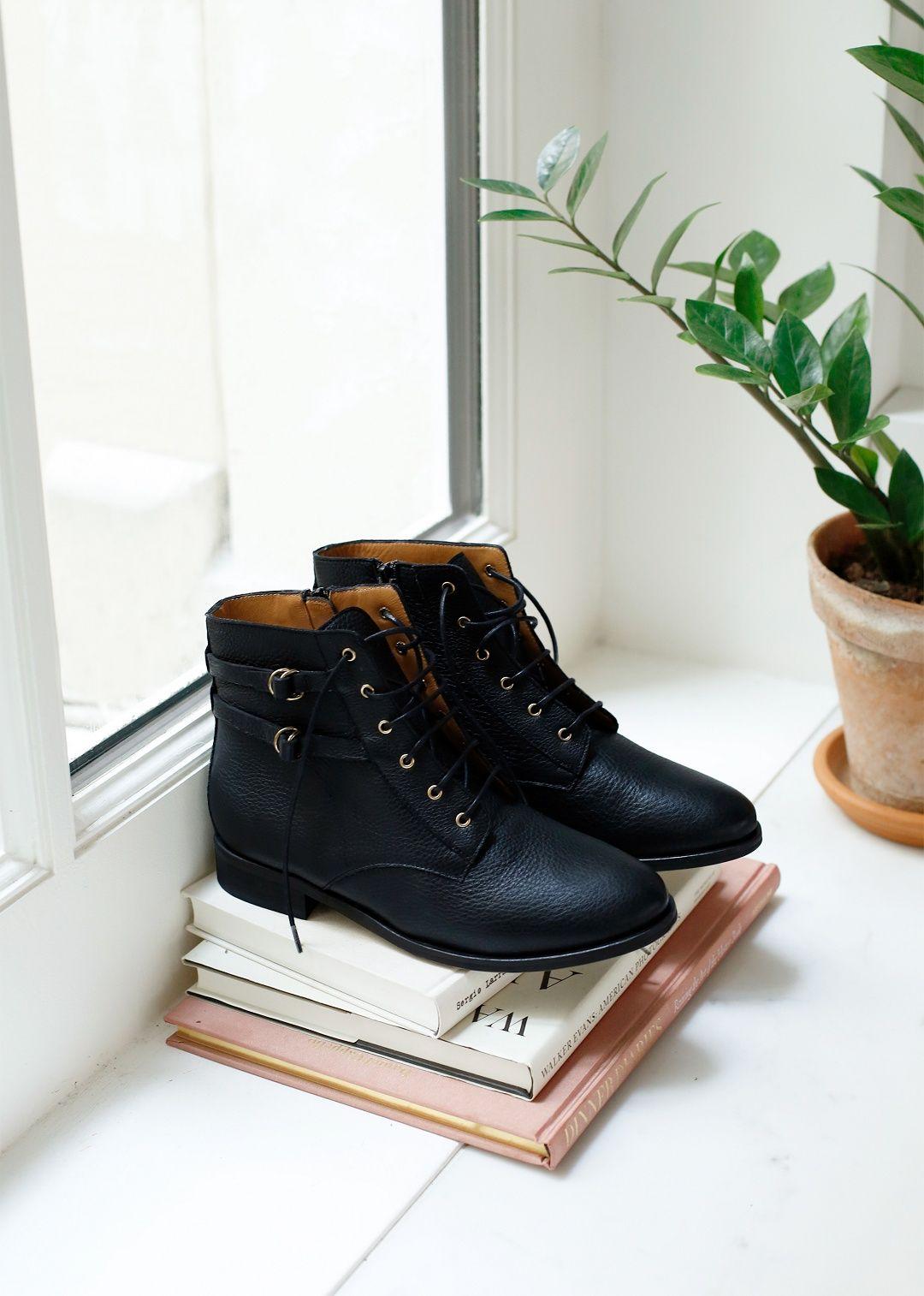Sézane Bottines Low Solene   Chaussure hiver, Chaussure