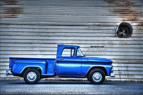 1962 Chevrolet C10 Ibn Mansi Auto Jeddah Saudi Arabia Tardis Blue World Best Photos Chevrolet