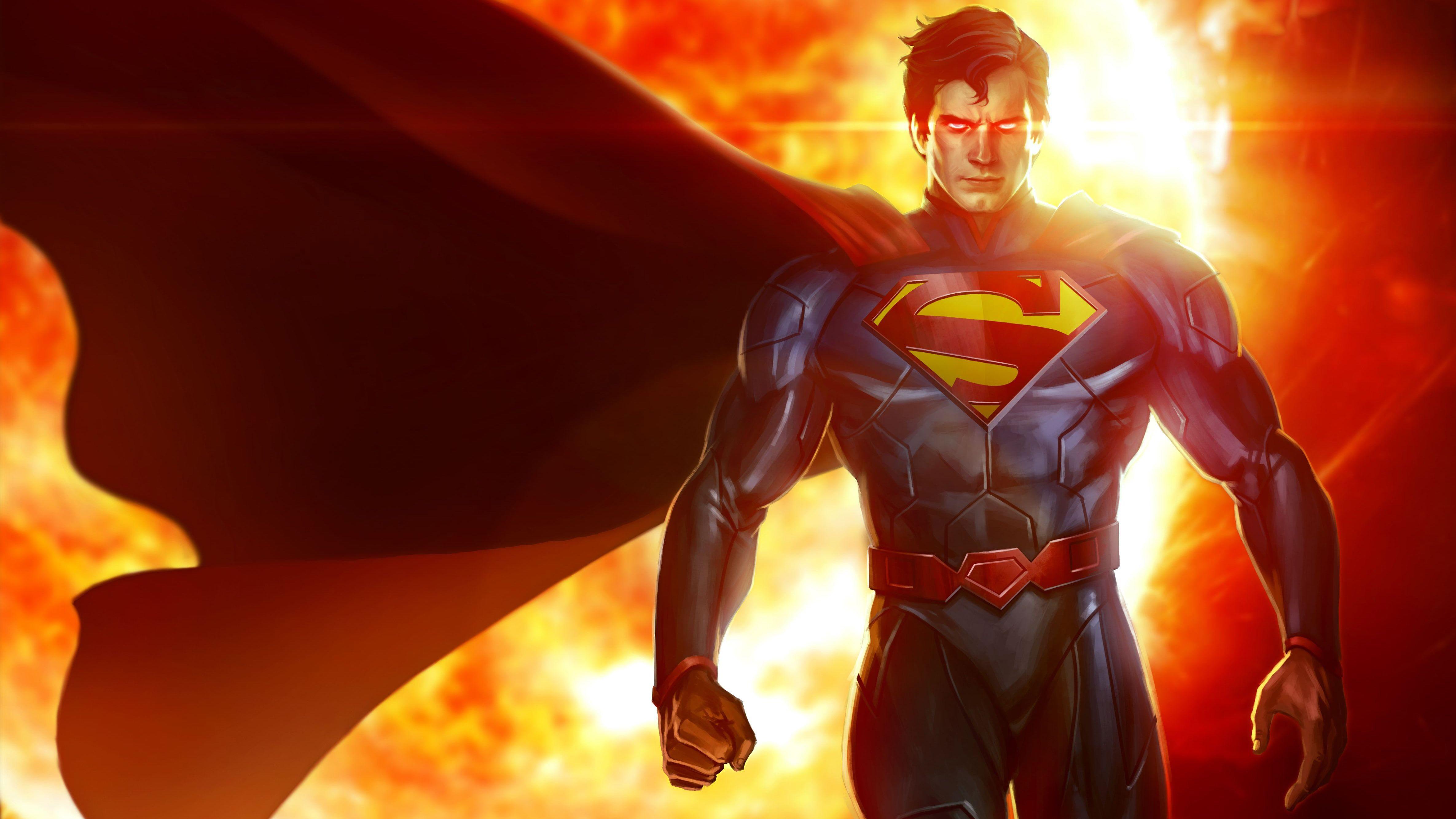 Superheroes 4k Superman Dc Comics 4k Wallpaper Hdwallpaper Desktop