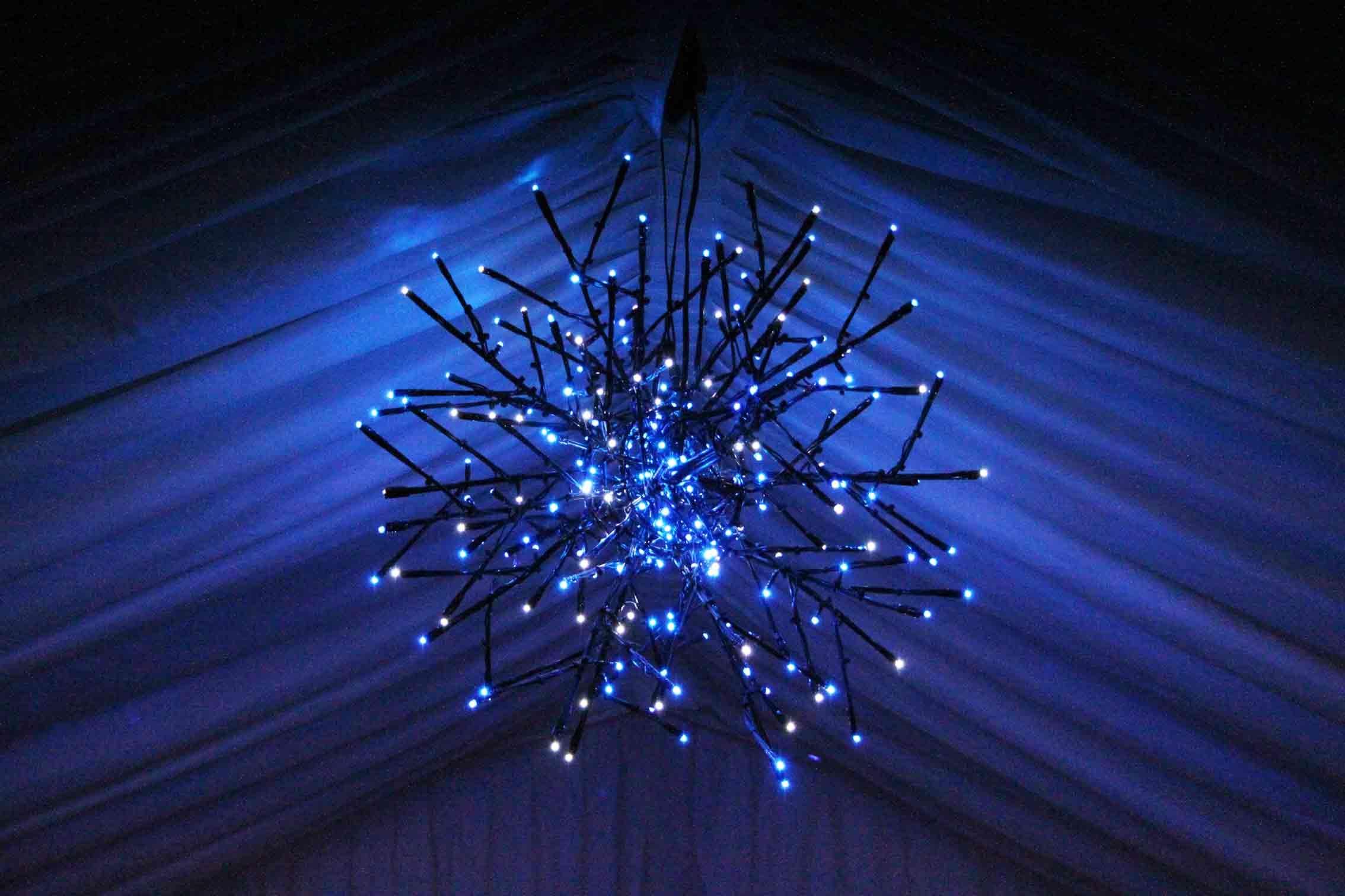 blue concert flashing stock lights background lighting stage sports stadium video