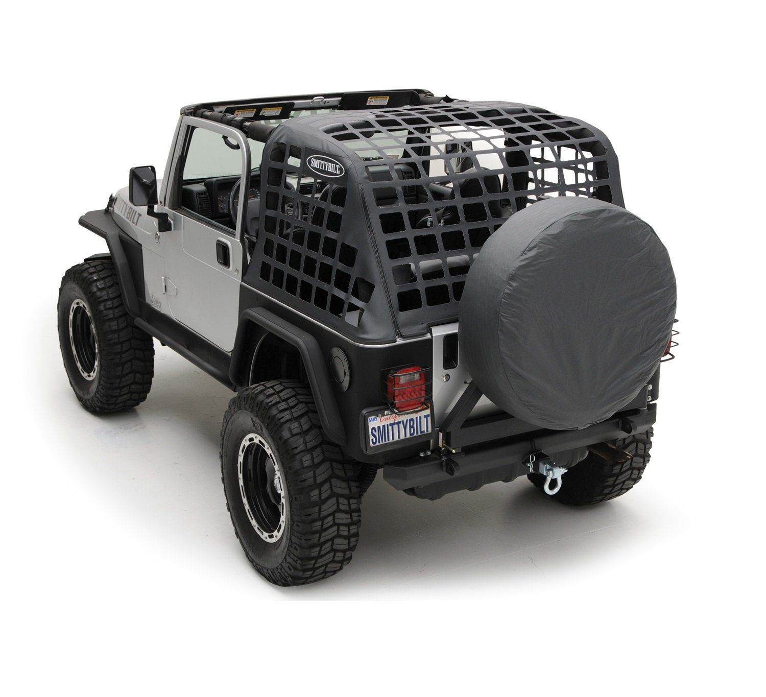 Amazon Com Smittybilt 561035 Black Diamond C Res System Cargo Net