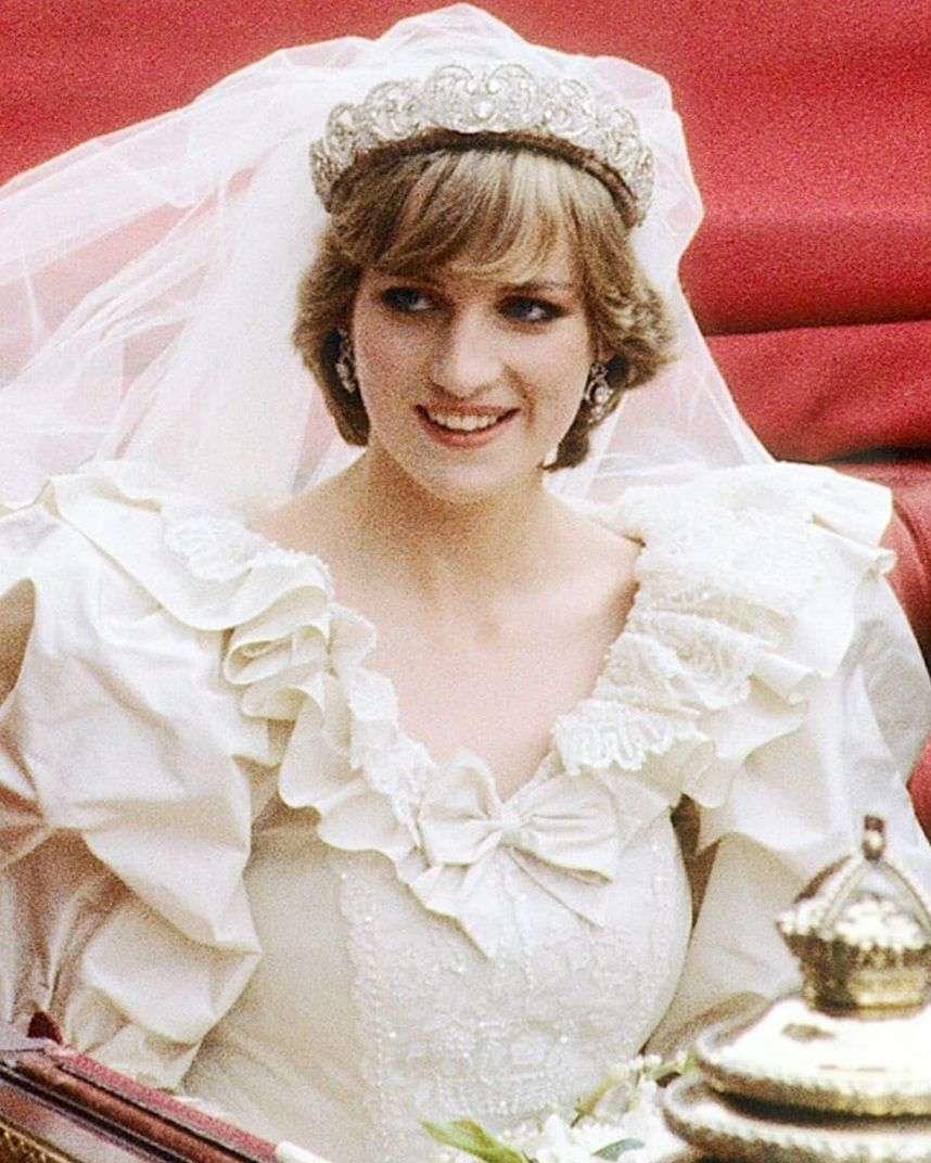 July 29, 1981 The beautiful 20 year old royal bride