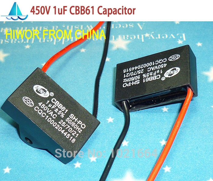 2 99 Watch Now 10pcslot Cbb Capacitors 1uf 450v Ac Cbb61 Metallized Capacitor For Motor Start Up Ceiling Fan To Capacitor Capacitors Electronic Products
