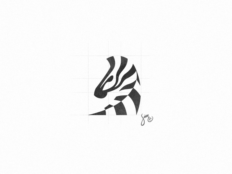 Zebra 7 Pet logo design, Animal logo, Zoo logo