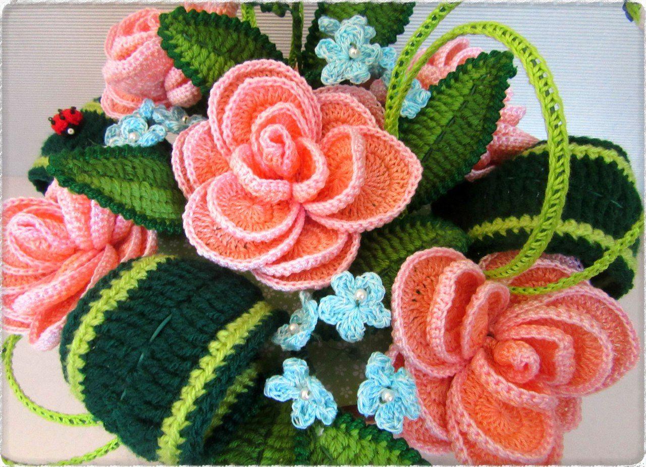Картинки с вязанием красивые для декора тойгер как