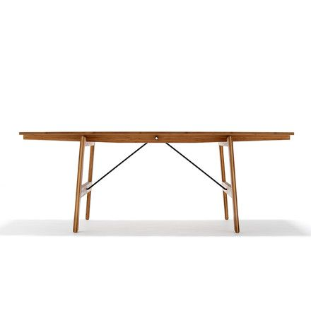 We Do Wood   Dining Table No. 1, 200 Cm   Einzelabbildung · EssenBock  EsstischeWaldBambus