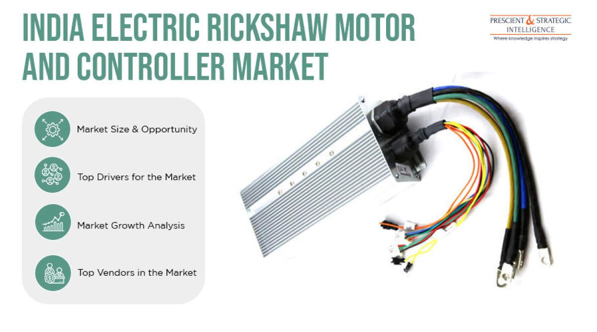 Electric Rickshaw Motor and Controller Market in India in
