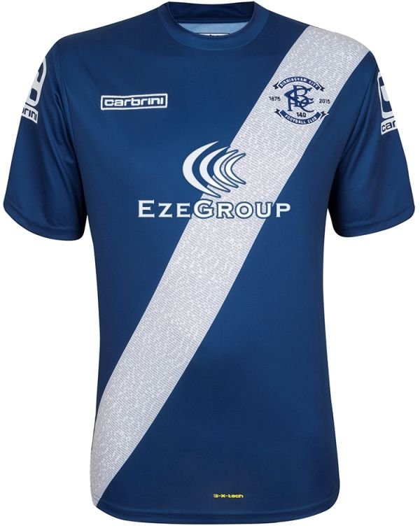 8a3d01099a3 New Birmingham City Kit 15/16- Carbrini BCFC Home Shirt 2015-2016 ...