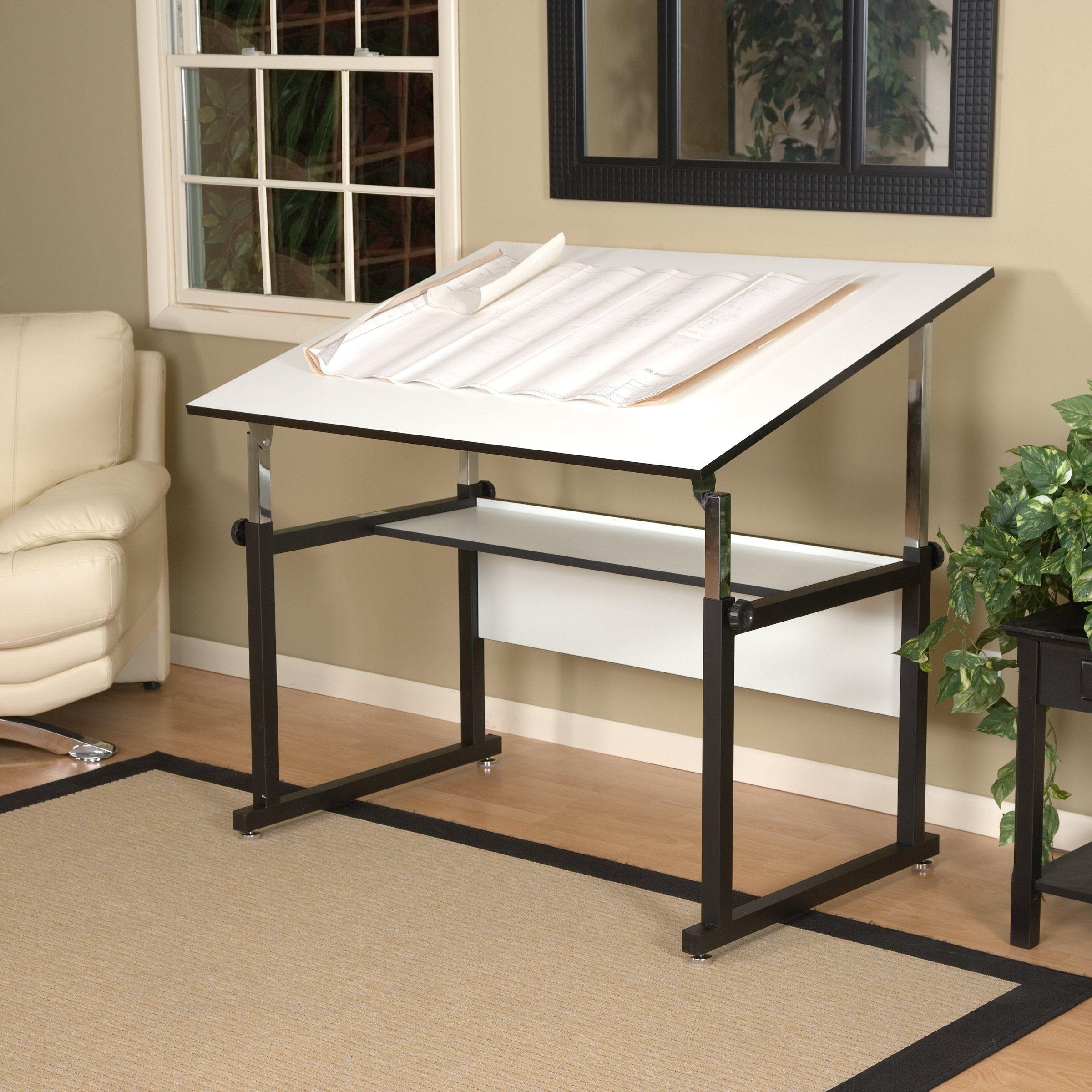 Alvin workmaster adjustable drafting table drafting