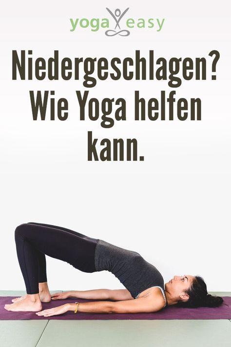 Photo of Niedergeschlagen? Wie Yoga helfen kann