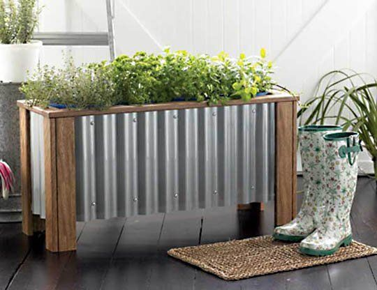 Diy Urban Planter Box Plans Fresh Home Ideas Metal Bo