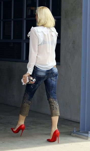 Gwen Stefani Photos: Gwen Stefani Visits a Studio in Culver City