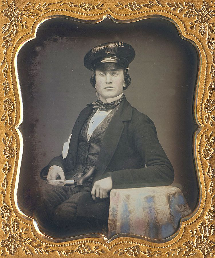 Carpenter. circa 1850s -Dennis A. Waters Fine Daguerreotypes