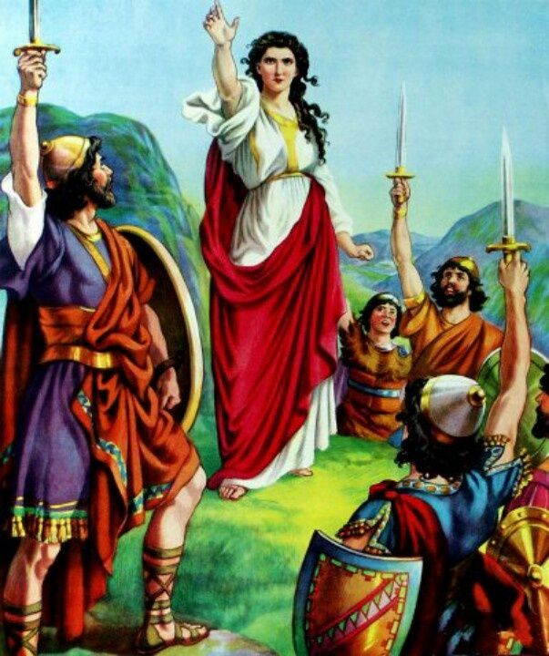 Deborah (, ) Was A Prophetess Of The God Of The Israelites