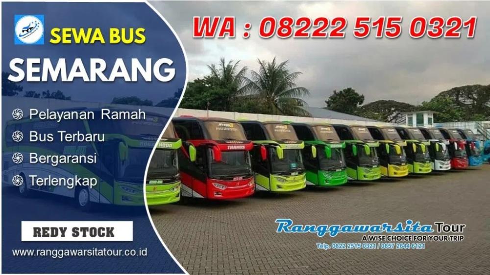 Telpon Harga Sewa Bus Semarang Terdekat Lengkap Big Bus Medium
