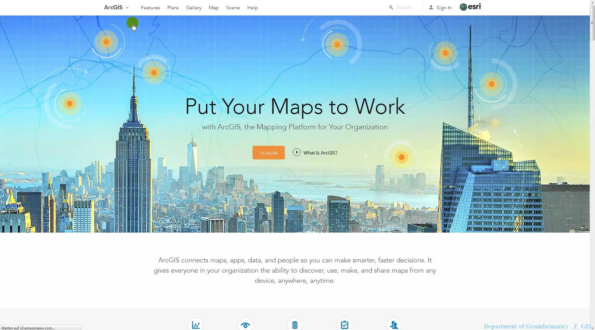 arcgis online personal developer account geospatial gis