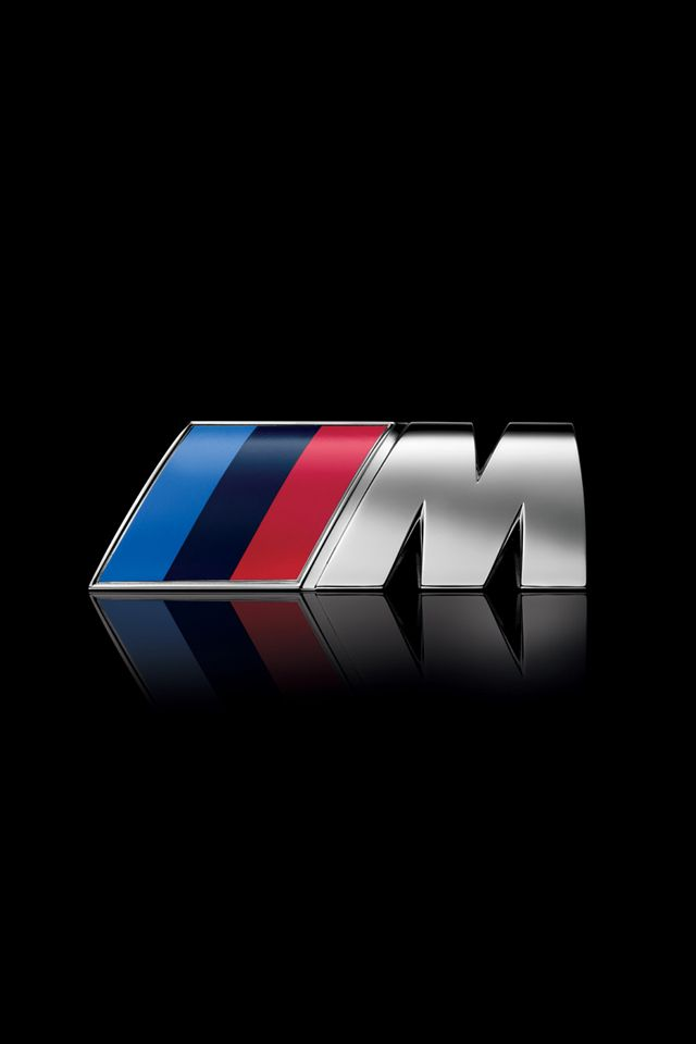 BMW M Logo iPhone Wallpaper / iPod Wallpaper HD - Free Download | Wallpapers | Bmw m series, BMW ...