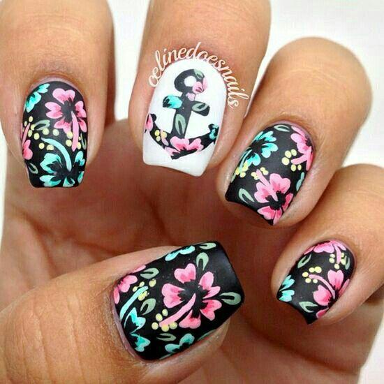 17 gorgeous spring nail designs makeup nail nail and hair makeup 17 gorgeous spring nail designs prinsesfo Gallery