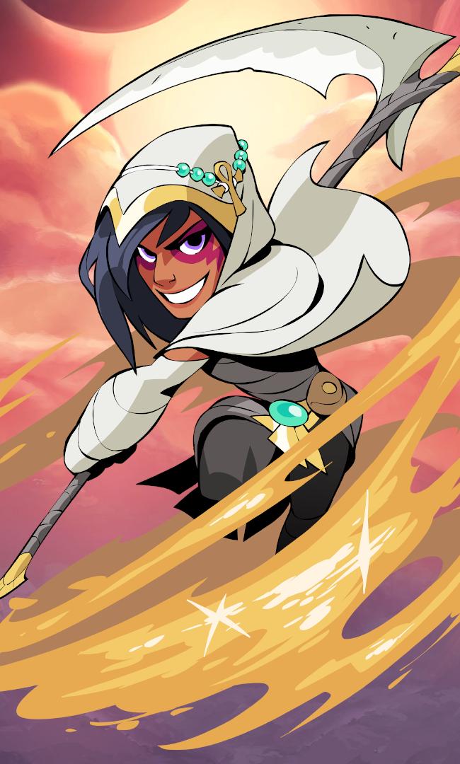 Mirage Brawlhalla Epic Art Character Design 2d Animation
