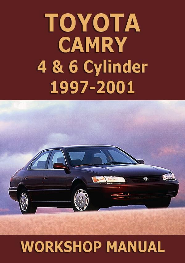 Toyota Camry And Vienta Xv20 1997 2001 Shop Manual Toyota Camry Camry Toyota