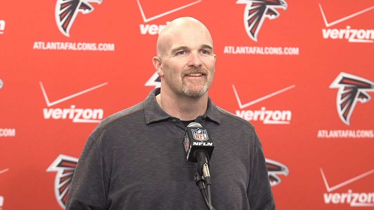 Falcons Head Coach Dan Quinn Gives An Update On His Team Riseup Falcons Atlanta Falcons Matt Ryan