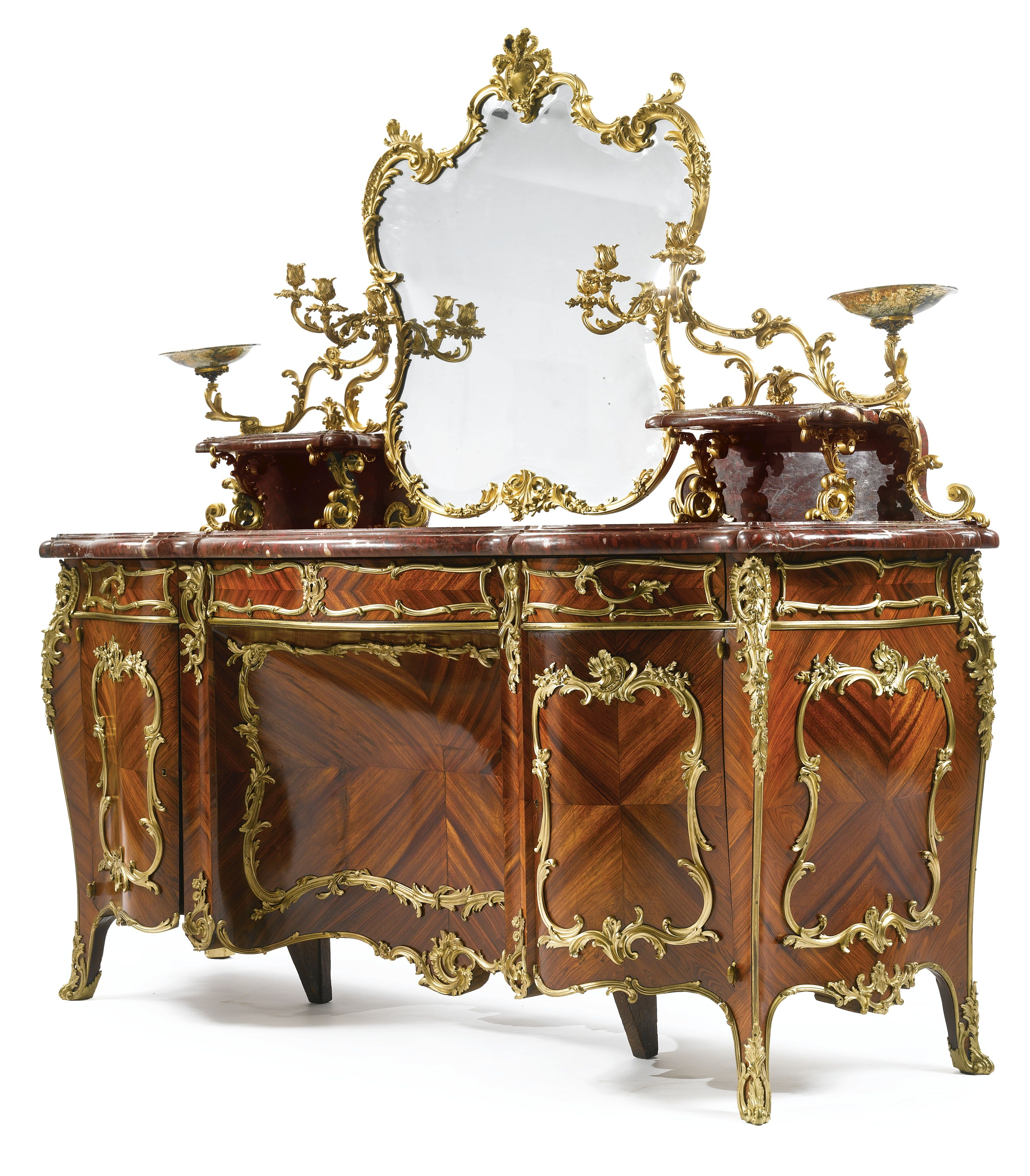 blaise th odore millet 1853 1918 an impressive louis xv revival gilt m bel barock m bel. Black Bedroom Furniture Sets. Home Design Ideas