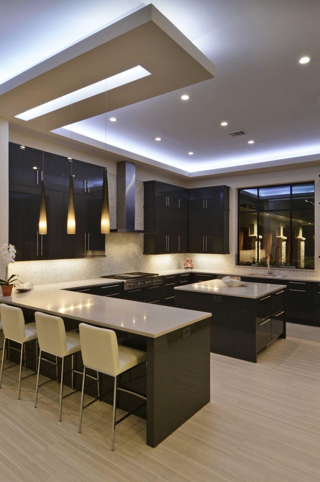 Küchenbilder, Schwarze Küchen, Moderne Küchen, Kücheneinrichtung, Moderne  Inneneinrichtung, Küchen Design, Ideen Für Die Küche, Offene Küche, Küche  Und ...