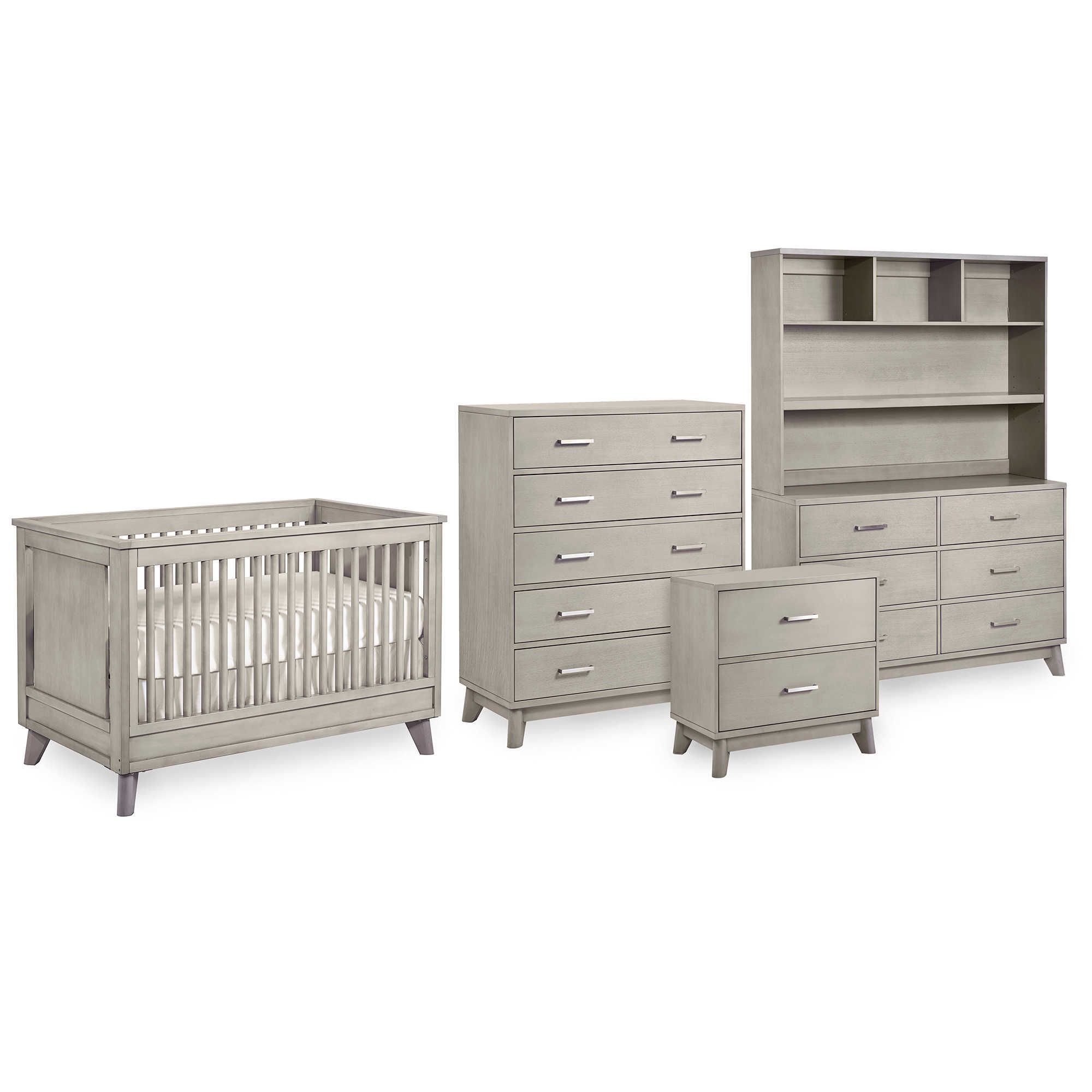 Munireu0026 Wyndham Collection Redefines The Contemporary Nursery By Adding A  Hint Of Vintage Inspired Elegance. These Sleek Pieces Feature A Platform  Style ...