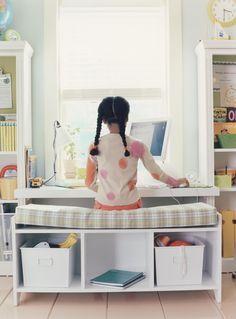 Window Seat Turned Into A Desk Google Search Kids Room Boy S
