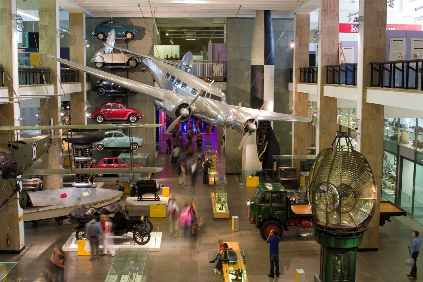 LONDON, SCIENCE MUSEUM, is free. The Secret Life of the