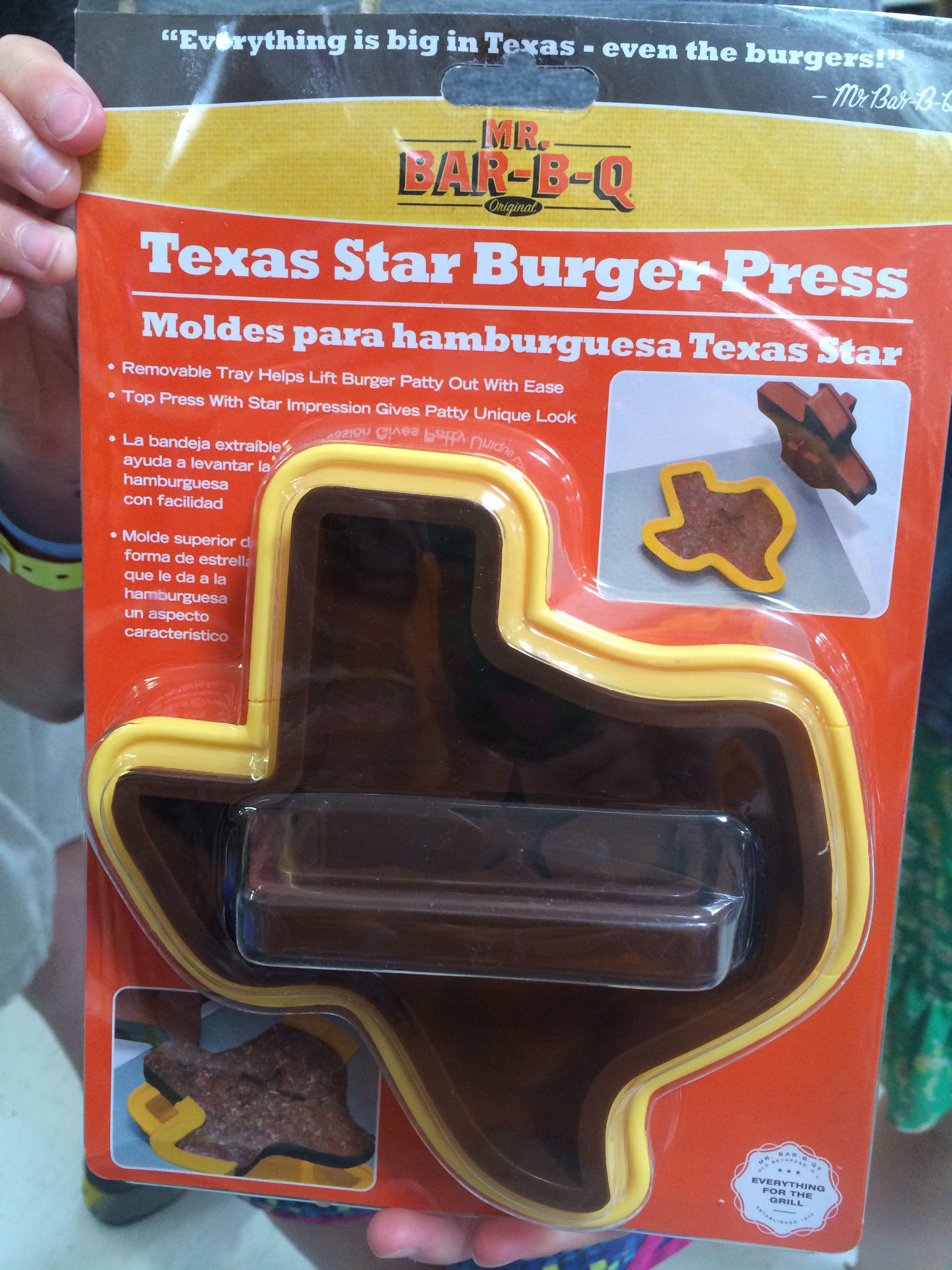 Yep Make Your Burgers In The Shape Of Texas Found At Walmart In Amarillo Texas Shaped Texas Decor Texas Girl