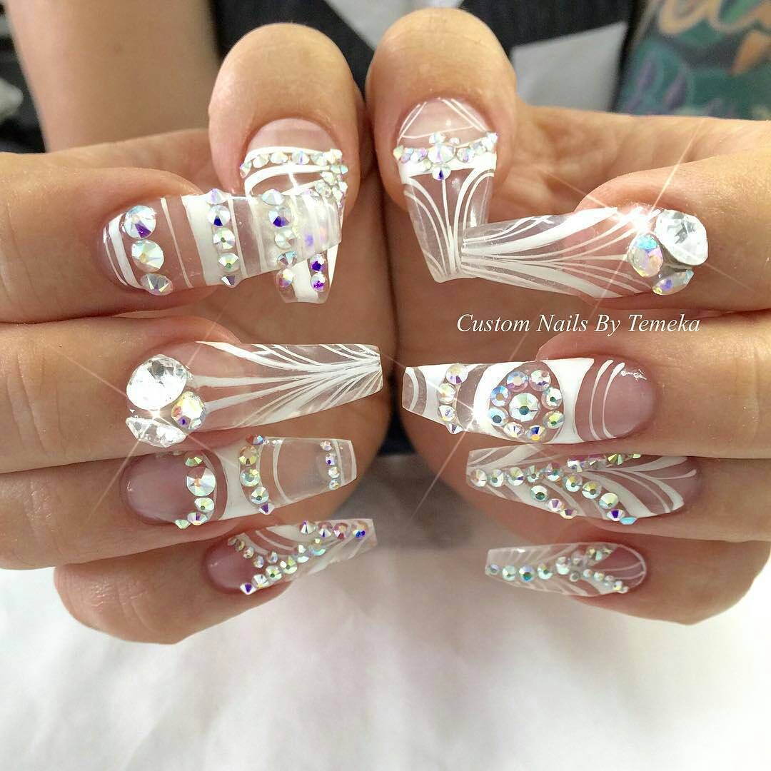 Beautiful Nails By Customtnails1 Swan Nails Page Is Dedicated To