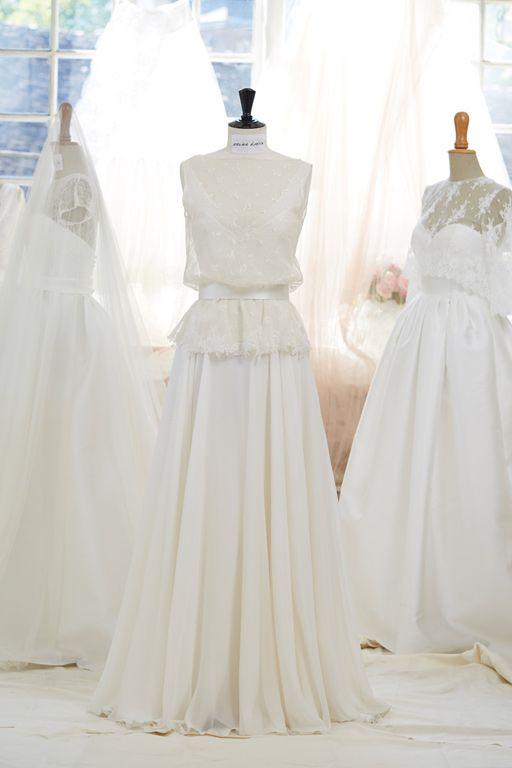 robe de mari e atelier emelia versailles robe juste un. Black Bedroom Furniture Sets. Home Design Ideas