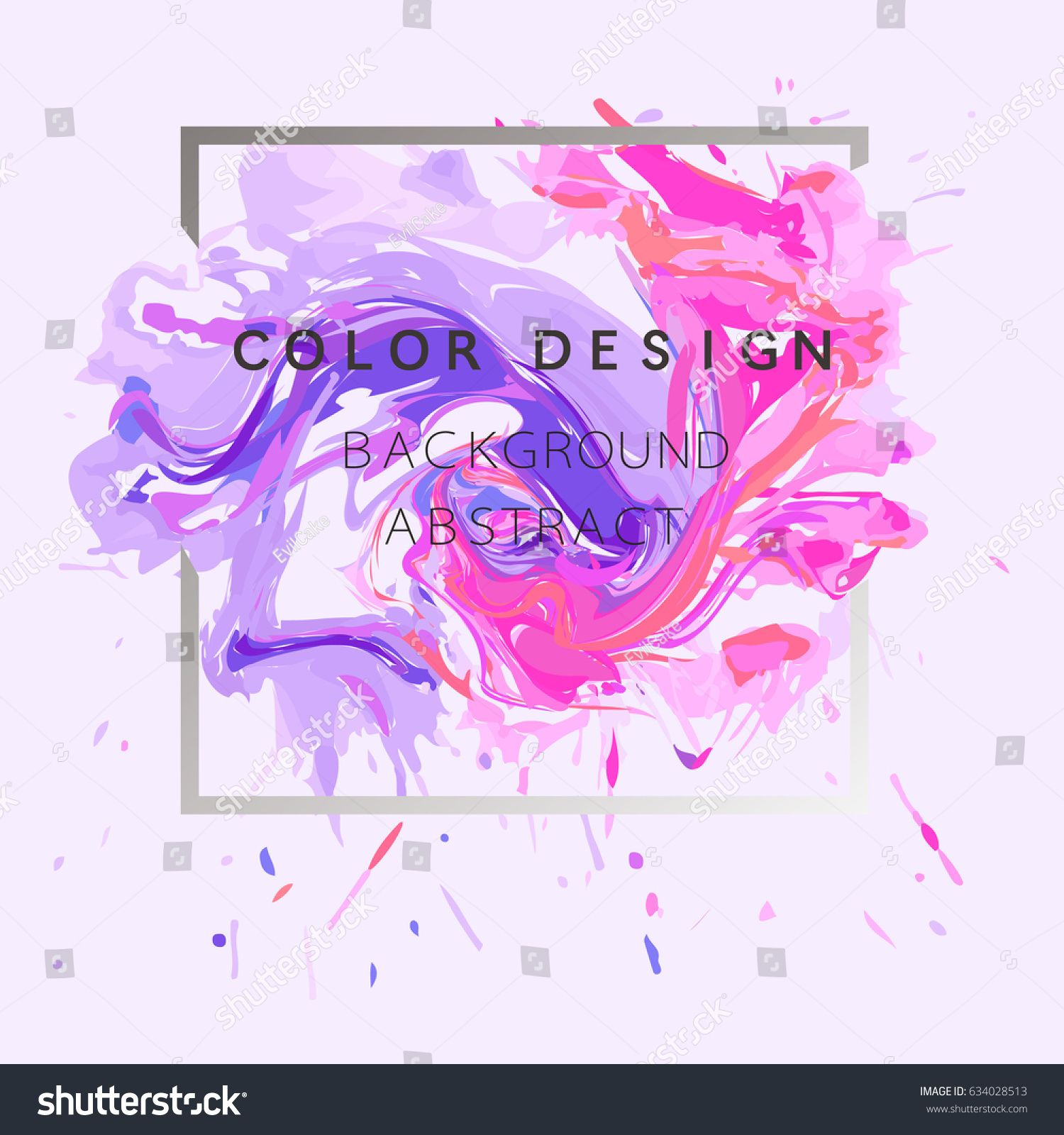 Art Abstract Background Watercolor Paint Texture Design Poster