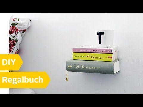 Unsichtbares bücherregal selber bauen  DIY Projekt: Schwebendes Bücherregal selber bauen - YouTube   DIY ...