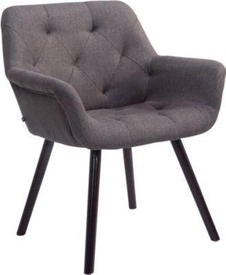 Esszimmerstühle Mit Armlehne clp esszimmerstuhl cassidy mit stoffbezug und sesselförmigem