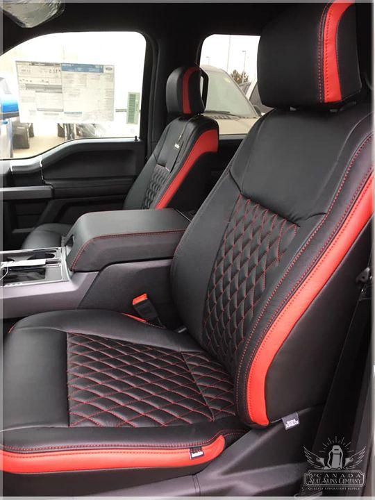 2015 2020 Ford F150 Custom Leather Interiors Standard Pattern Ford F150 Custom Ford F150 Accessories Ford F150