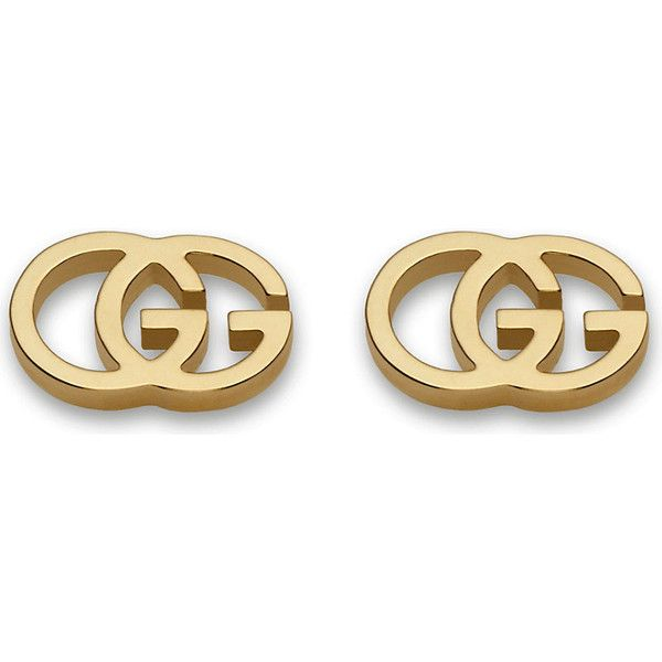 Gucci 18K Pink Gold Running G Stud Earrings RPKxxPt