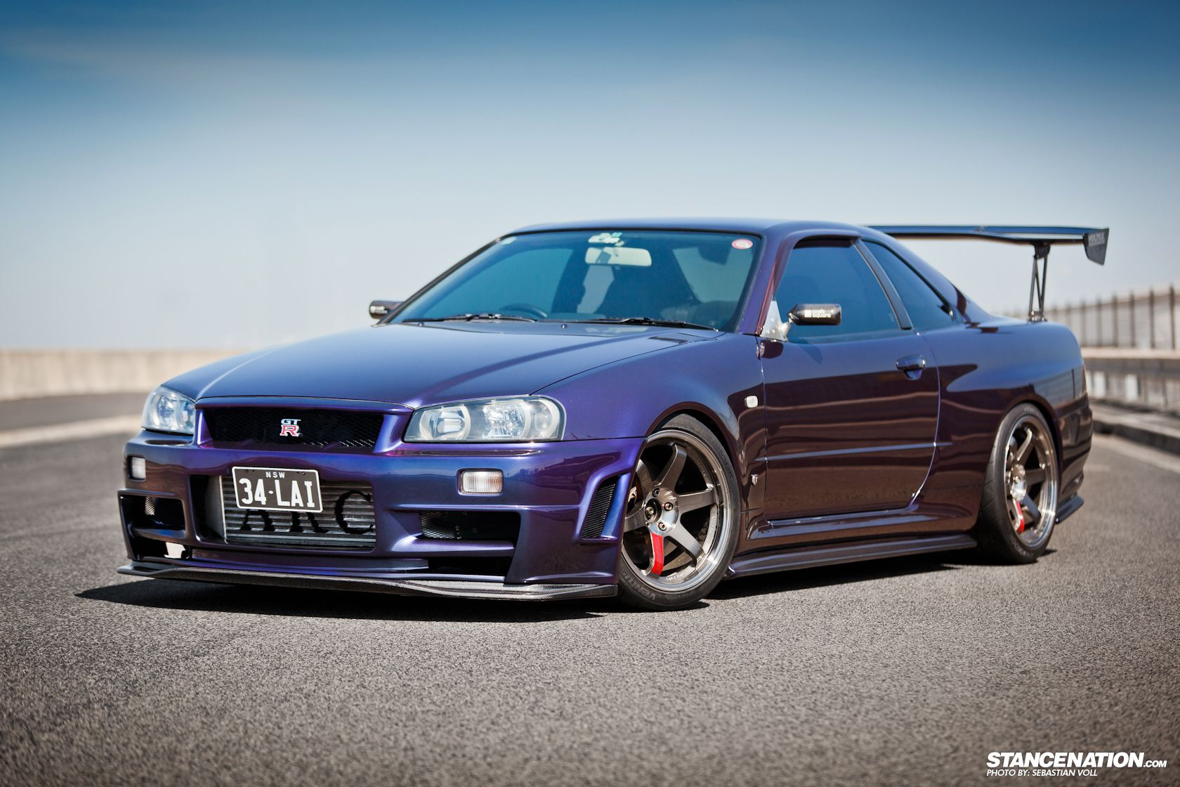 eibach equipped r34 on stancenation importtuner nissan skyline rh pinterest com