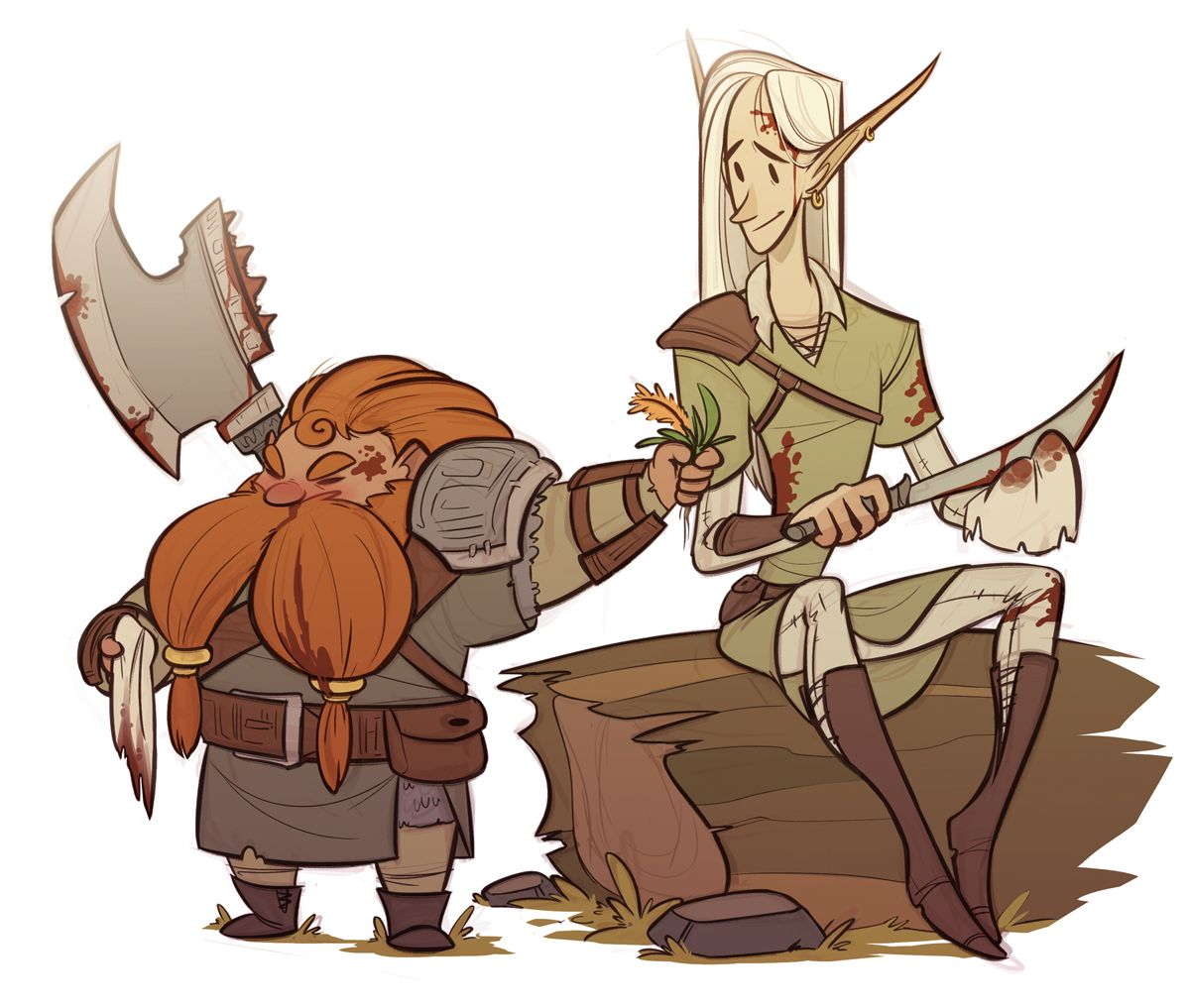 I Forgot How Much I Ship Gimli And Legolas Until I Saw Them In This