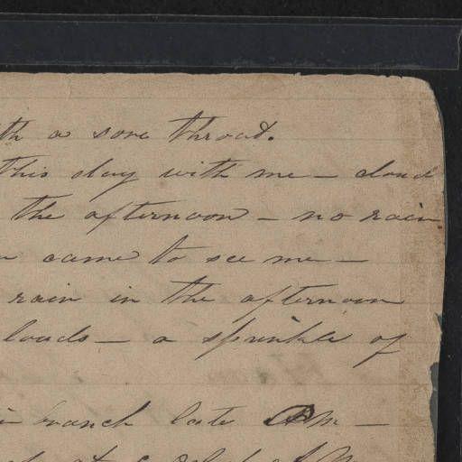 Keziah Brevard Journal, 1860-1861 :: Keziah Brevard Journal, 1860-1861
