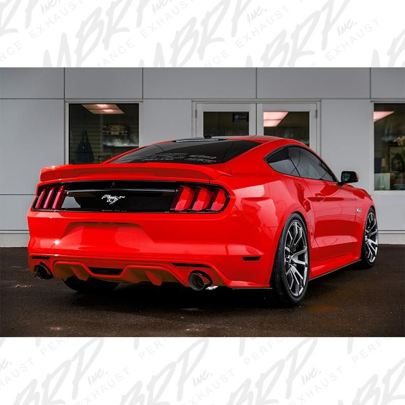 mbrp catback exhaust ford mustang