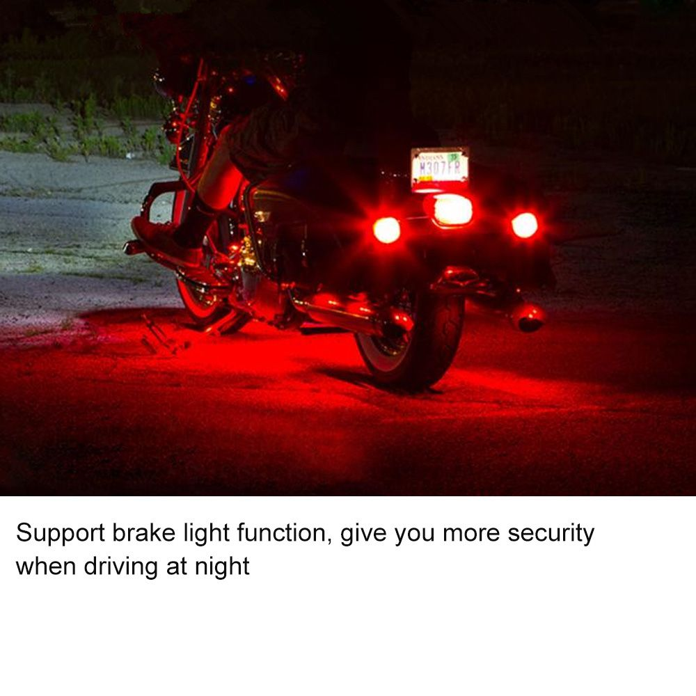 Led Light Strips For Motorcycles Music Control 36 Led Wireless Rgb Led Car Motorcycle Light With
