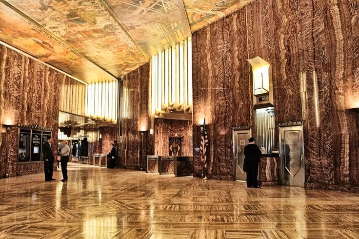 The Chrysler Building Lobby With Images Chrysler Building