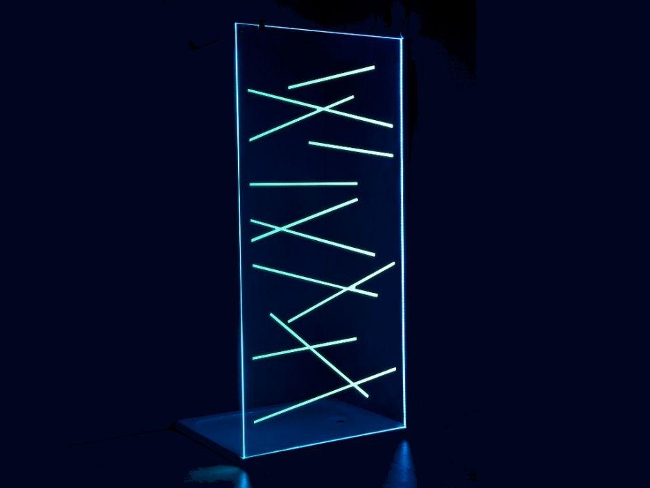 paroi de douche lolita avec leds 120x200cm tendance leds pinterest. Black Bedroom Furniture Sets. Home Design Ideas