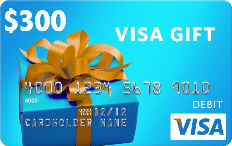 Image result for $300 Visa Gift Card